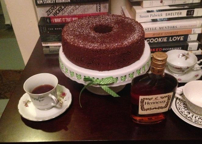 Feature - Chocolate Chiffon Cake