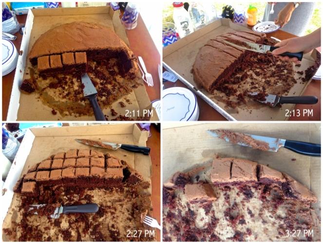 Cake Progress