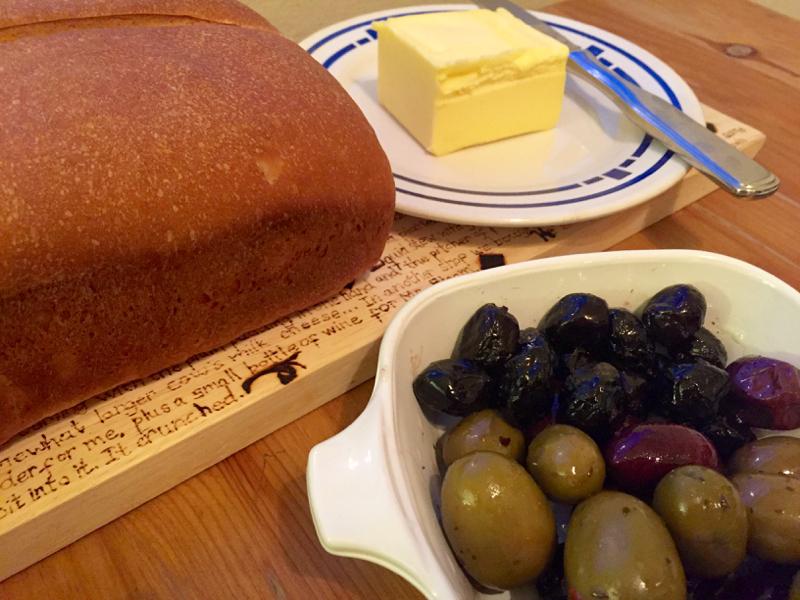 Hannah's Bread - Little Women recipe