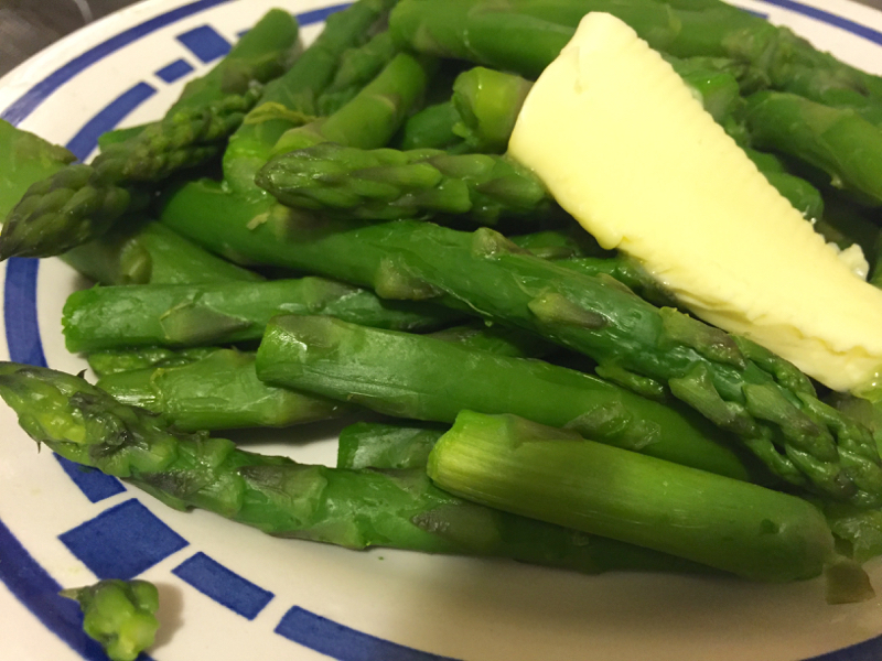 Jo's Boiled Asparagus & Potatoes - Little Women recipe