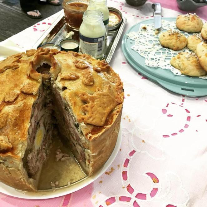 Pie Cross-Section