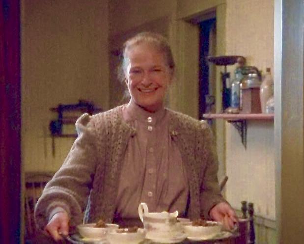 Marilla Brings Plum Pudding